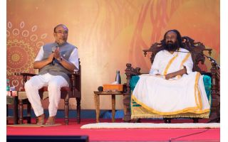 Is SRI SRI RAVI SHANKAR really serious about breaking peace in NORTHEAST?