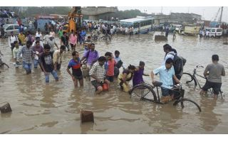 Flood creates havoc in Northeast India