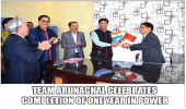 Team Arunachal Celebrates Completion Of One Year in Power