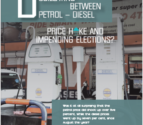 Does the Centre Oscillating between Petrol-Diesel