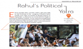 Rahul's Political Yatra