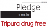 Pledge to make Tripura drug free