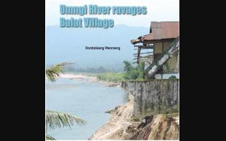 Umngi River ravages Balat Village