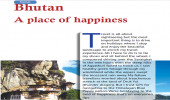 Bhutan: A place of happiness