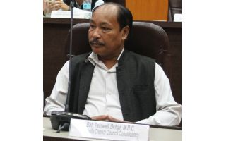 There is a need of 'Anti-defection' law in KHADC: Teinwell Dkhar