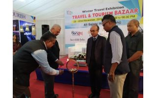Travel and Tourism Bazar 2019 in Shillong underway