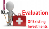 Evaluation Of Existing Investments