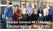 Director General NECTAR visit Encouraging: Necardo