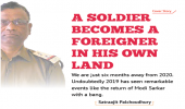 A soldier becomes a foreigner in his own land