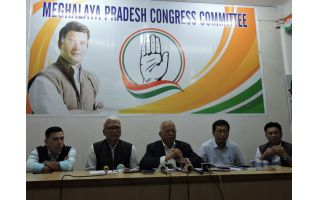 INC to re-structure in Meghalaya