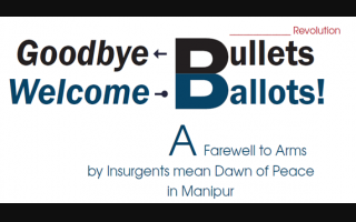 Goodbye Bullets Welcome Ballots
