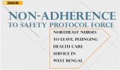 Non-Adherence to safety protocol force Northeast nurses to leave, plunging health care service in West Bengal