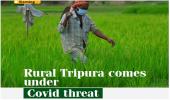 Rural Tripura comes under Covid threat