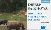 Dibru-Saikhowa : Abutted with lavish Nature