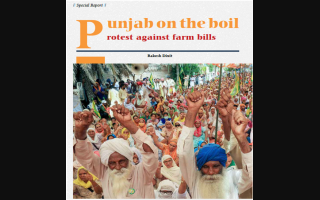 Punjab on the boil: Protest against farm bills
