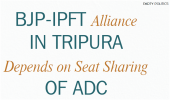 BJP-IPFT Alliance in Tripura Depends on Seat Sharing Of ADC