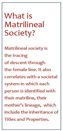 Khasi Social Custom of Lineage Act