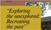 Exploring the unexplored:Recreating the past