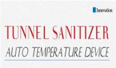 Tunnel Sanitizer : Auto Temperature device